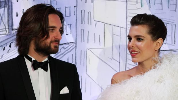 Dimitri Rassam y Carlota Casiraghi, en el Baile de la Rosa