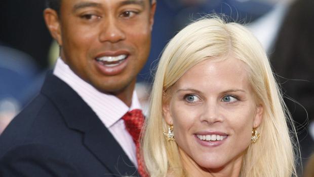 Resultado de imagen para Tiger Woods y Elin Nordegren