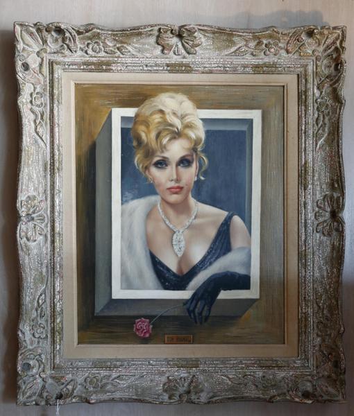 Retrato realizado por Margaret Keane, vendido por 36.500 euros