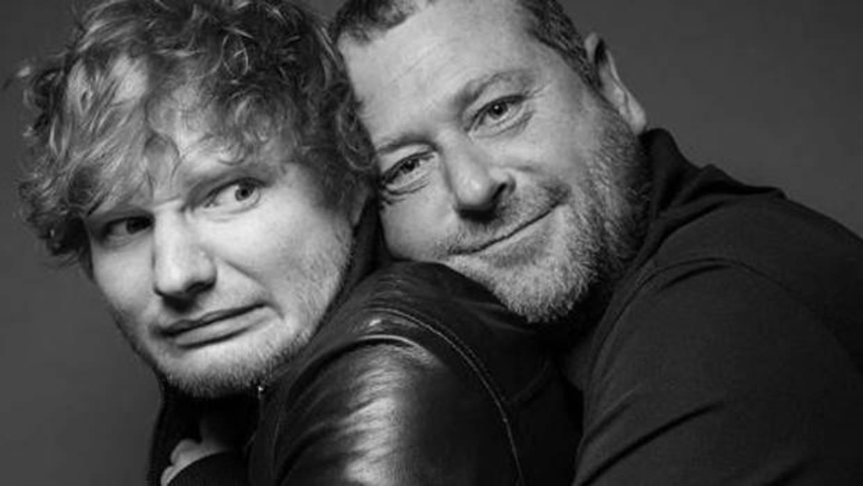El guardaespaldas de Ed Sheeran, una estrella en las redes sociales con sus bromas al cantante