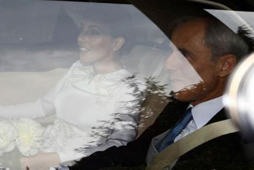 La duquesa de Suárez y su padre, Fernando Romero