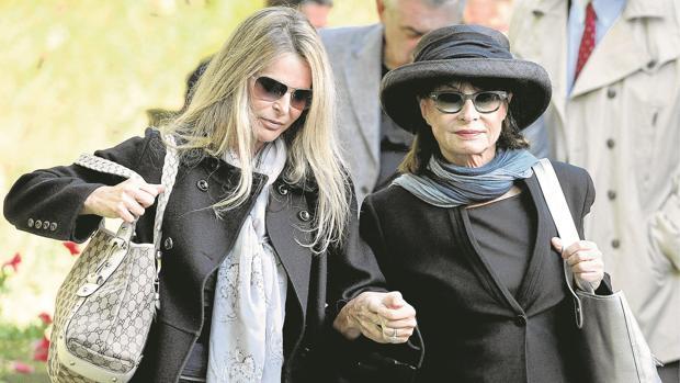 La actriz Catherine Oxemberg y su madre, la princesa Isabel de Yugoslavia