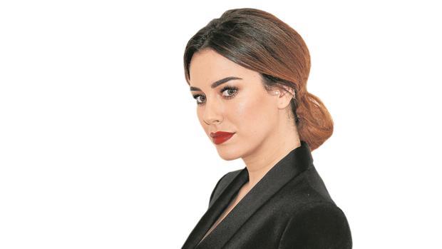 La actriz madrileña, Blanca Suárez