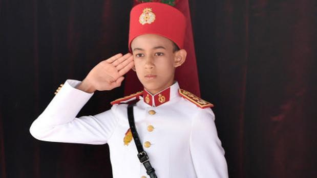 El Príncipe Moulay El Hassan de Marruecos