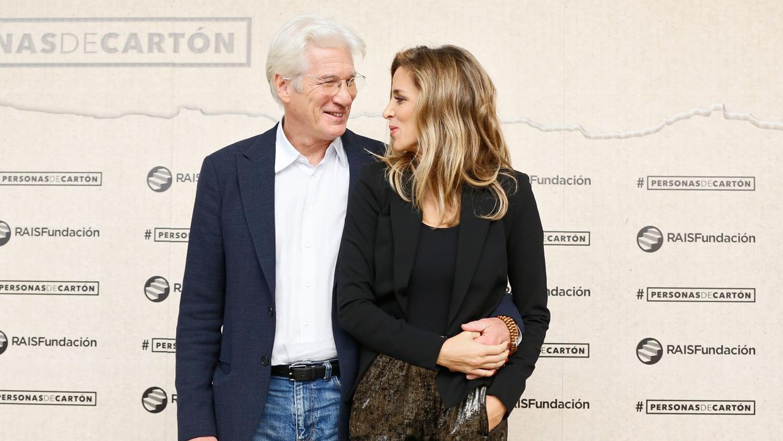 Se desvelan las primeras imágenes de la boda de Richard Gere y Alejandra Silva