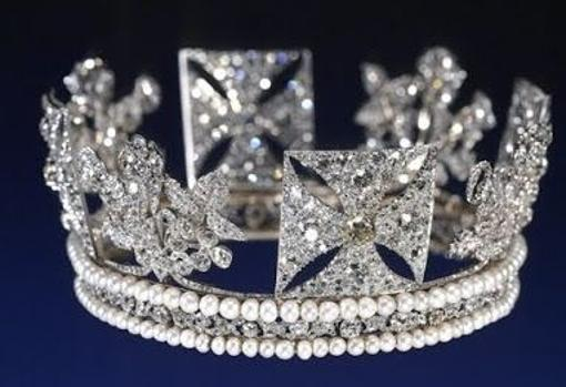Diadema de diamantes