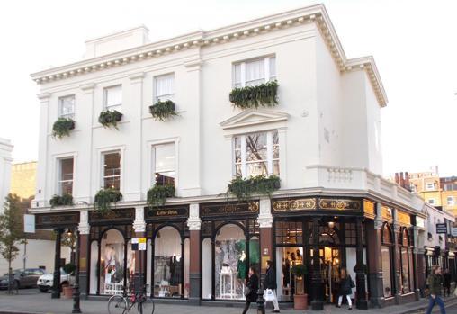Una de las tiendas de King's Road