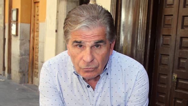 Pedro Ruiz ayer en Madrid