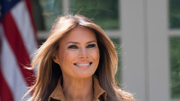 Melania Trump, en una fotografía tomada en la Casa Blanca el pasado 7 de mayo