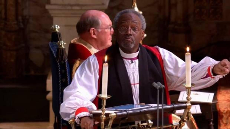 El reverendo Michael Curry, protagonista involuntario de la boda real de Inglaterra