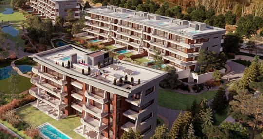 Viviendas del proyecto residencial LGC3