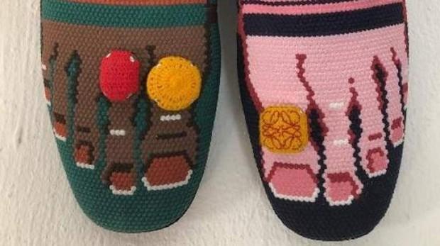 El nuevo calzado de Loewe