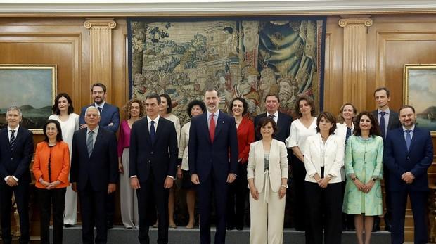 Resultado de imagen de foto gobierno sanchez