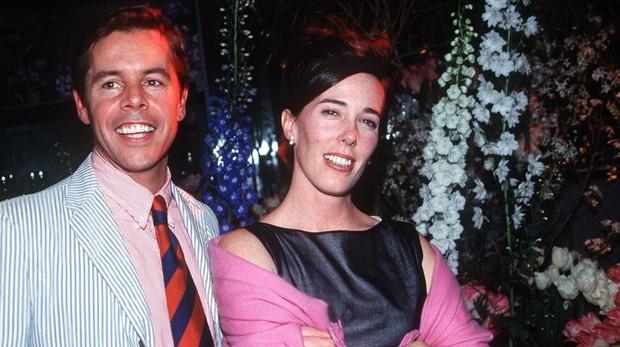 Kate Spade y su marido