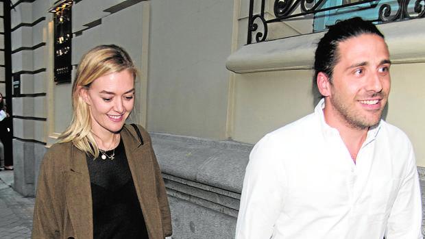 Marta Ortega y Carlos Torretta, a la salida del hotel Santo Mauro