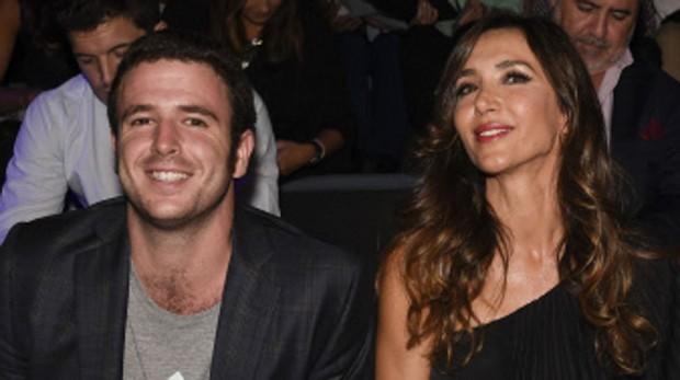 Paloma Lago junto su sobrino Álex Lequio