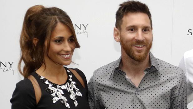 Leo Messi y Antonela Rocuzzo