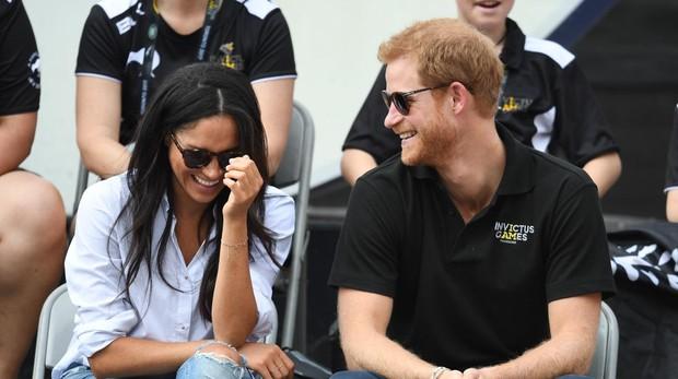 Meghan Markle y el Príncipe Harry en los Invictus Games