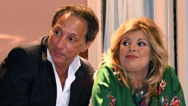 Alejandro Rubio y Terelu Campos
