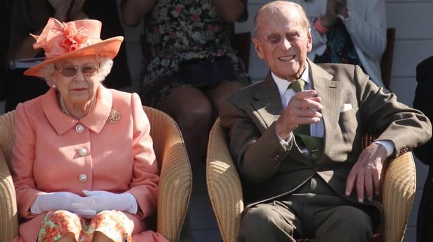 El Duque de Edimburgo junto a la Reina Isabel II, el pasado mes de junio