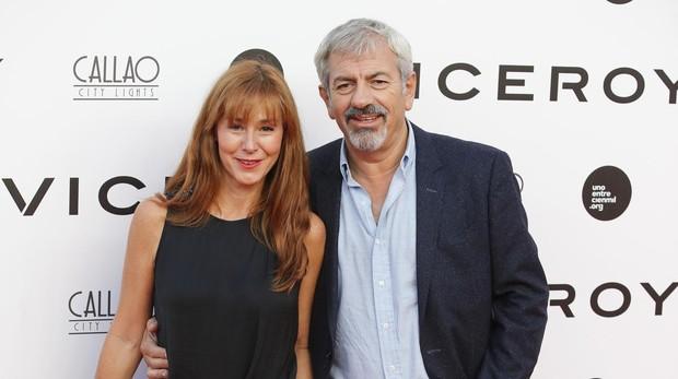Carlos Sobera y su esposa Patricia Santamaria