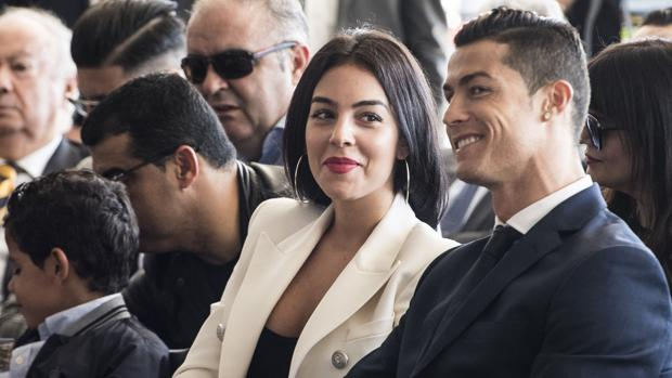 Georgina Rodríguez junto a Cristiano Ronaldo