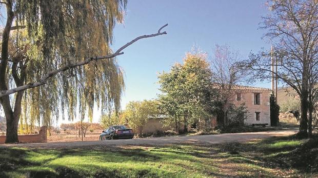 La periodista y su familia llegaron hace unos años a esta propiedad, una casa con un antiguo molino de aceite