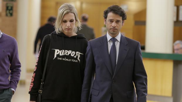 Miguel Palomo Danko y Carla Sánchez, su actual pareja