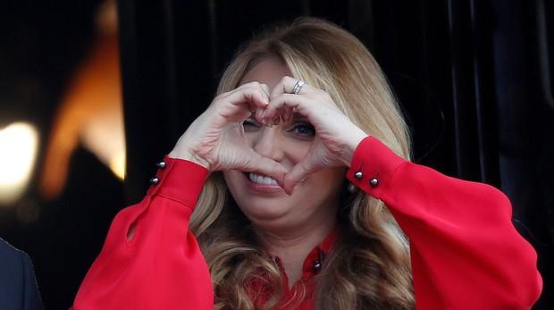 angélica rivera se despide como primera dama de méxico rodeada de