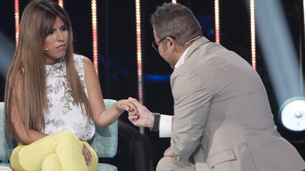 Chabelita con Jorge Javier Vázquez