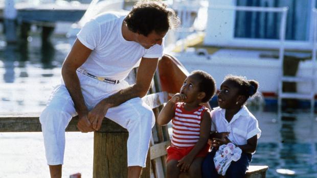 Julio Iglesias en una imagen de 1987