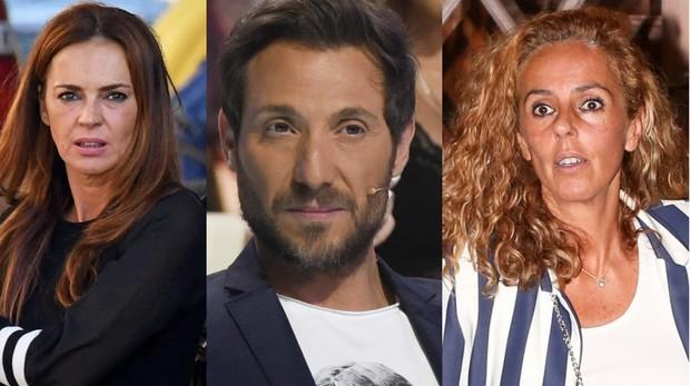 Olga Moreno, Antonio David Flores y Rocío Carrasco