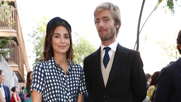 Christian y Sassa de Hannover, en la boda de María Vega-Penichet y Fernando Ramos de Lucases