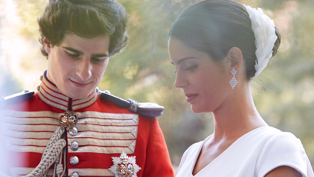 La Casa de Alba publica las fotografías oficiales de la boda de los duques de Huéscar
