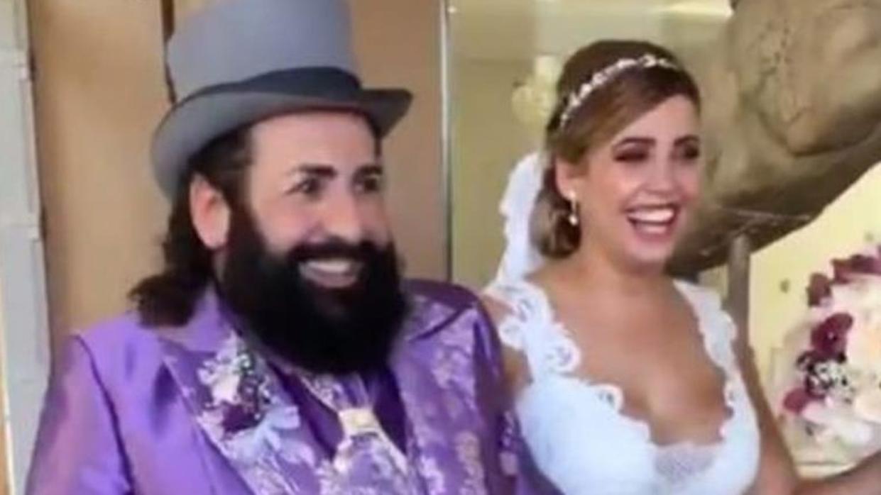Las extravagancias con las que Juan Miguel y Karina han eclipsado la boda de su hija