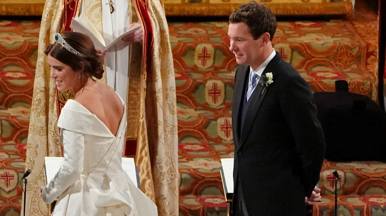 Eugenia de York y Jack Brooksbank, una boda más hollywoodiense que real