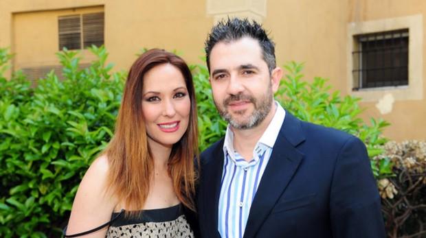 Rosario Mohedano junto a su marido en una imagen de 2013