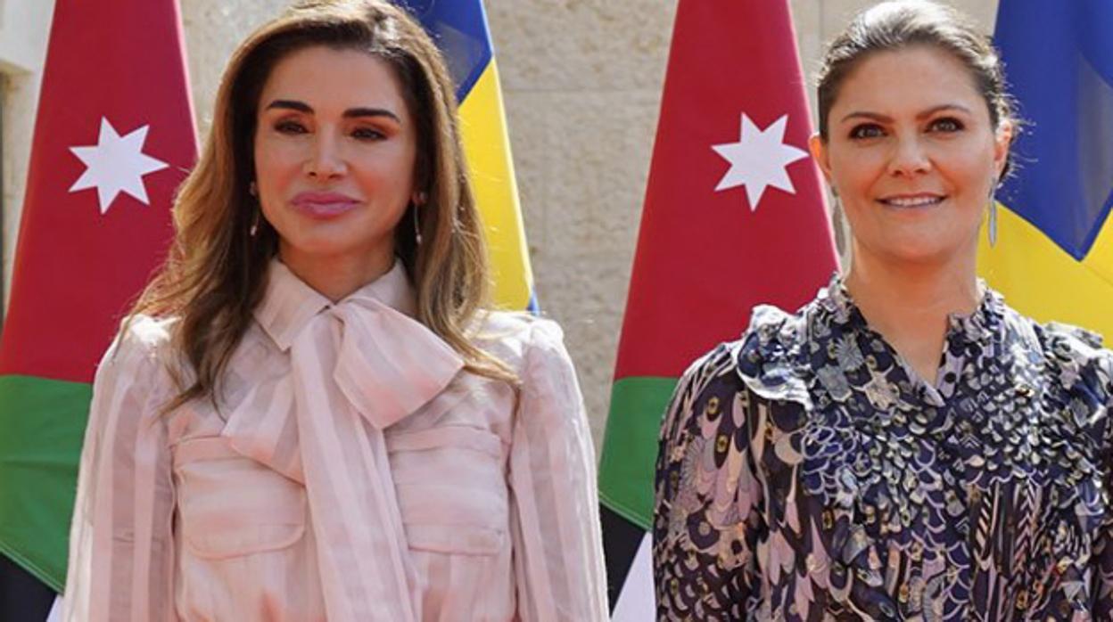 Así ha «esculpido» Rania de Jordania su nuevo rostro