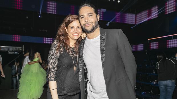 Joaquín Cortes y Mónica Moreno