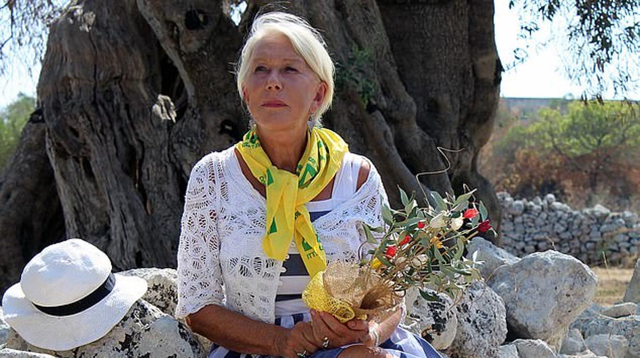 Helen Mirren, investigada por reformar su villa italiana sin permisos