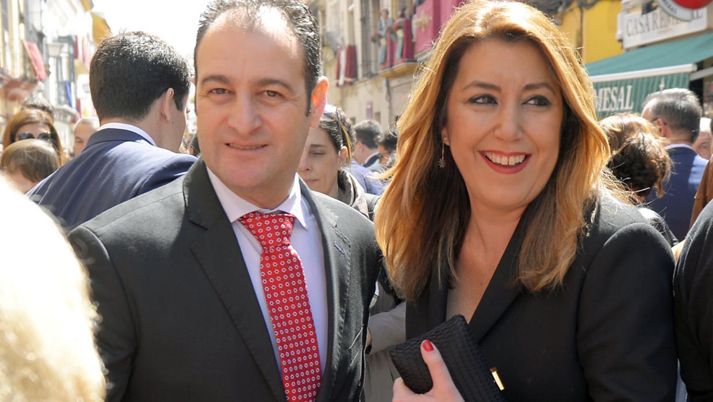 El mejor apoyo de Susana Díaz tras el debacle electoral: así es José María Moriche, su marido