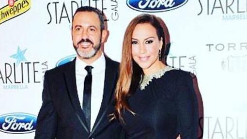 Mónica Naranjo y Óscar Tarruella en el festival Starlite de 2016