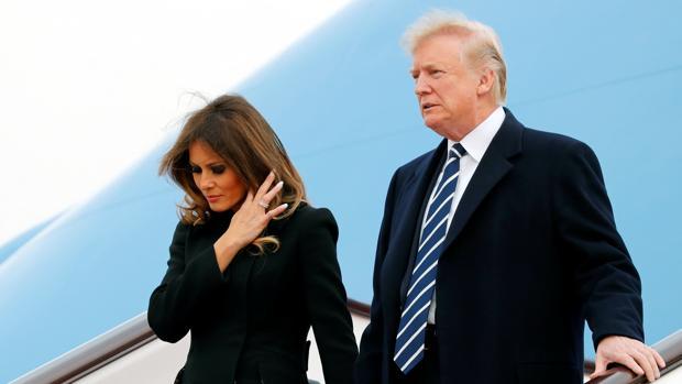 Donald y Melania Trump, en 2017