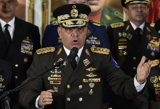Vladimir Padrino López, ministro de Defensa de Nicolás Maduro