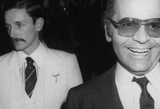 Lagerfeld mantuvo una apasionada relación con Jacques de Bascher, muerto en 1989