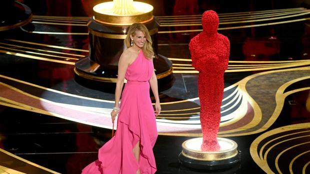 Julia Roberts durante la última ceremonia de los Oscar