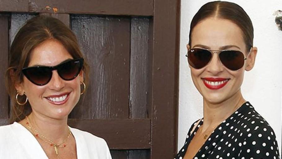 Lourdes Montes y Eva González: tú en Sevilla y yo en Madrid