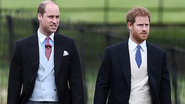 Los Príncipes Guillermo y Harry
