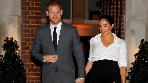 Harry y Meghan hace unas semanas en Londres