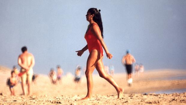 El bañador será la primera prueba de «supervivencia» para Isabel Pantoja